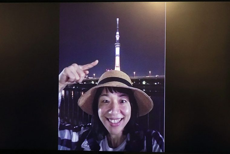 ↑浜口さんがGalaxy S7 edgeのインカメラで撮影した写真