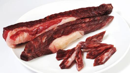 ワイルドすぎる「ザ・干し肉」で赤身の旨さを満喫! 「キャビアの親」も取り寄せできる!【絶品おつまみお取り寄せガイド】