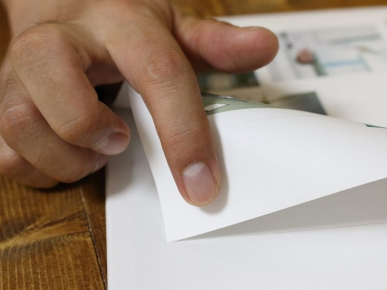 ↑使用中は指テープが見えないので形はバレにくい