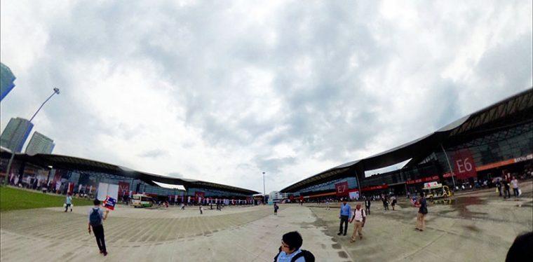↑MWC2016の会場の様子