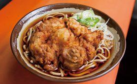 【昼は立ち食いそば】江戸前立ち食いそばの完成形を提供する淡路町の「六文そば 須田町店」