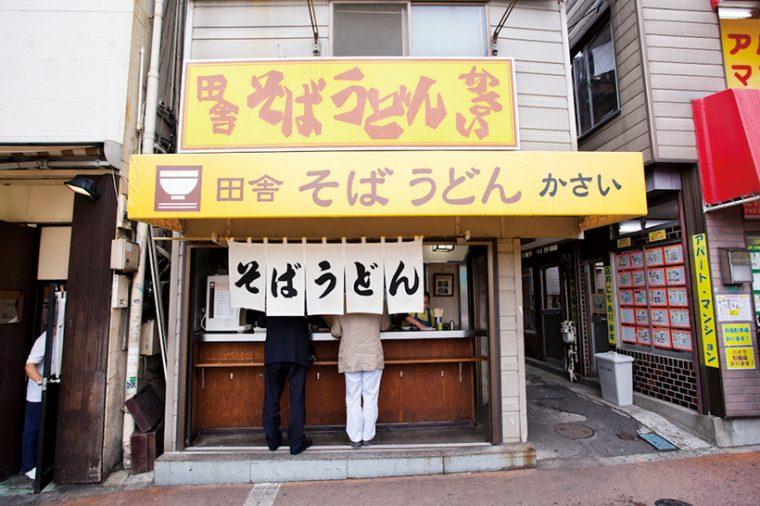 ↑店舗は中野サンモール商店街入口の右側にある。鮮やかな黄色の看板は、中野区民にとって慣れ親しんだ風景だ
