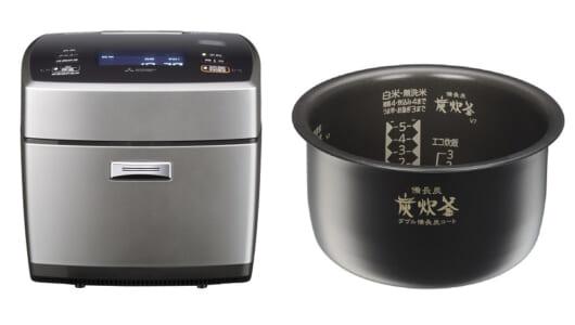 指一本触れずに炊飯器をセット! スマホと音声でご飯の予約できるIHジャー炊飯器が三菱電機から登場