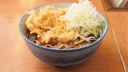 【昼は立ち食いそば】するめいかを使った「いかそば」をぜひ食すべし! 秋葉原の人気店「川一」