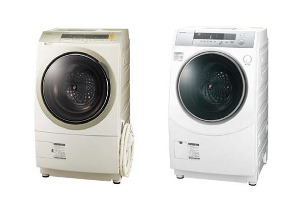 ↑左:ES-ZP1-NL(ゴールド系・左開き) 右:ES-ZH1-WL(ホワイト系・左開き)
