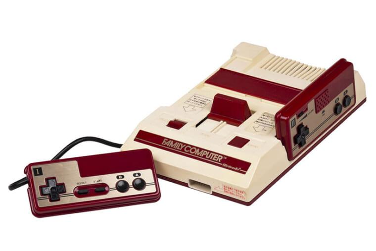 ↑ファミリーコンピューター  (C) Nintendo