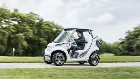 こんなカートでラウンドしたい! メルセデス・ベンツが斬新すぎるゴルフカーを発表