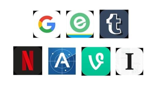 【まとめ】iPhoneの待ち受けに使える! アイコンがアルファベットになっているアプリ