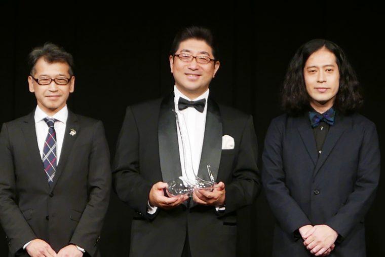 ↑純米吟醸部門の表彰