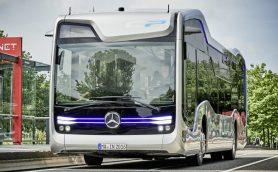 これなら通勤が絶対楽しい! メルセデス・ベンツが半自動運転のバスコンセプトを発表