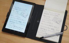 手書きとデジタルのいいところ取り! 手軽に使える進化型ノート「Bamboo Spark」