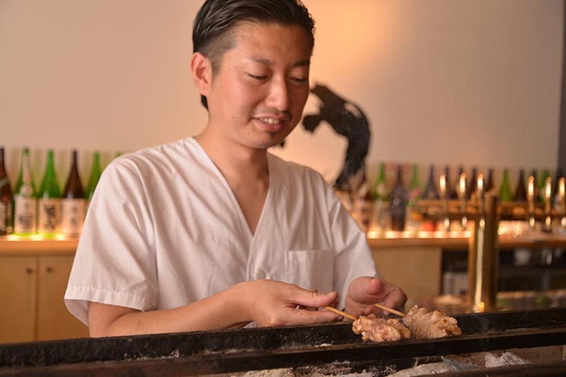 ↑山本耕太さん。旨さの高みを目指し続ける職人ですが、雰囲気は柔和なナイスガイです