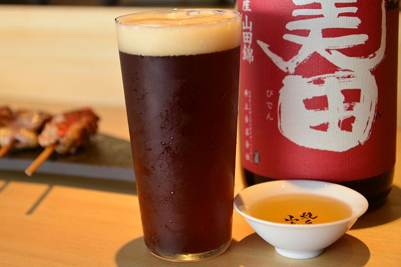 ↑湘南ビールの「ヴァイツェンボック」(842円)。通常の倍の時間をかけて熟成される、フルーティなアロマと複雑な味わいが特徴です
