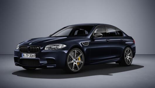 日本導入に期待! BMW M5に600馬力の「コンペティション・エディション」が登場