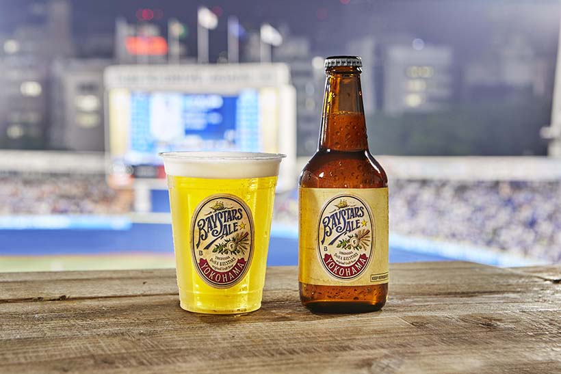 ↑BAYSTARS ALE BOTTLE