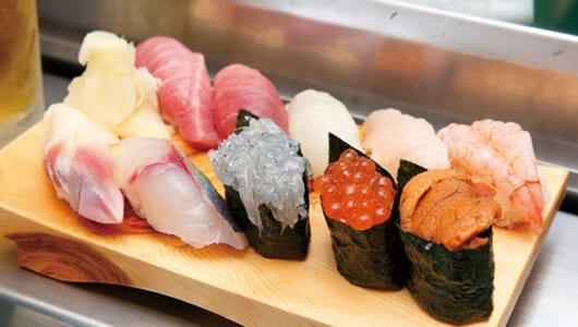 【立ち食い寿司の名店】とびっきり新鮮な天然ものが100円から! 古きよき伝統を守る「立喰鮨 吉光 船橋北口店」