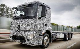 世界初の快挙! メルセデス・ベンツが大型EVトラックを公開