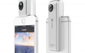 iPhoneに直接接続できる360度カメラが登場! 面倒なWi-Fi作業とはおさらば!