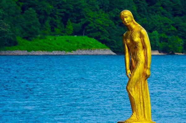 15101939 - lake tazawa, japan