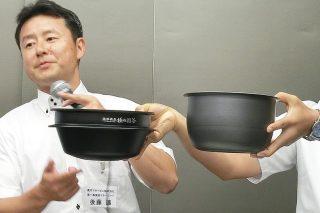 ↑象印の第一事業部マネージャーの後藤 譲さん