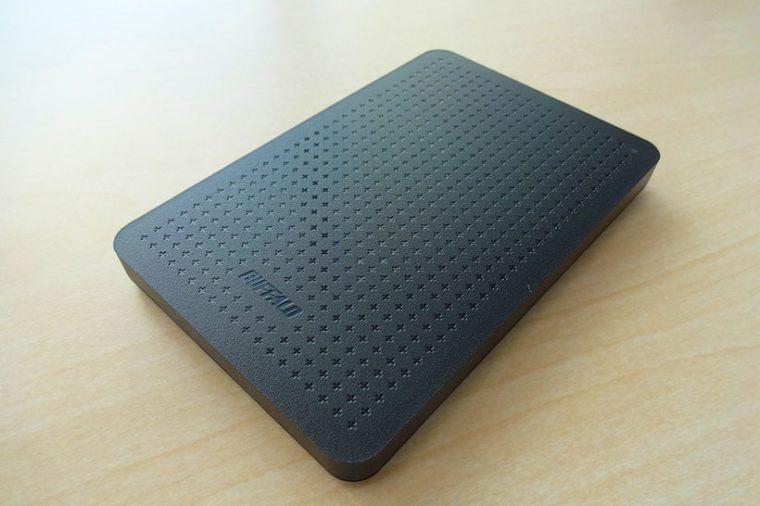 ↑今回は約60GBのデータだったので、外付けHDDで納品されました