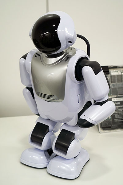 ↑EMS事業から生まれた富士ソフトのロボット「Palmi(パルミー)」