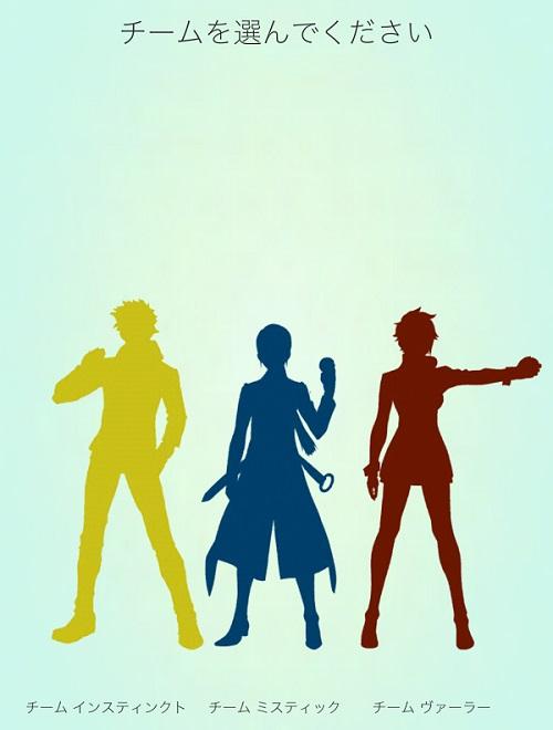 ↑3チームから1つを選んで所属します