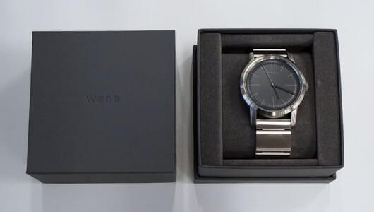 時計であることを主張する異端のスマートウオッチ「wena wrist」の魅力に迫る