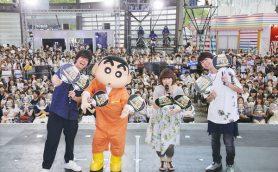 """神谷浩史がクレヨンしんちゃんショーで""""ぶりぶりざえもん愛""""を語る「ギャップがたまらない」"""