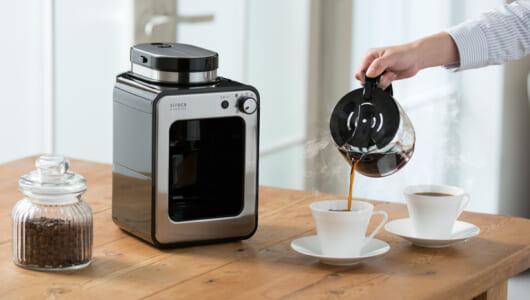 コーヒーは蒸らすとなぜウマい? 累計販売20万台のコーヒーメーカーが「蒸らし」を追加した理由