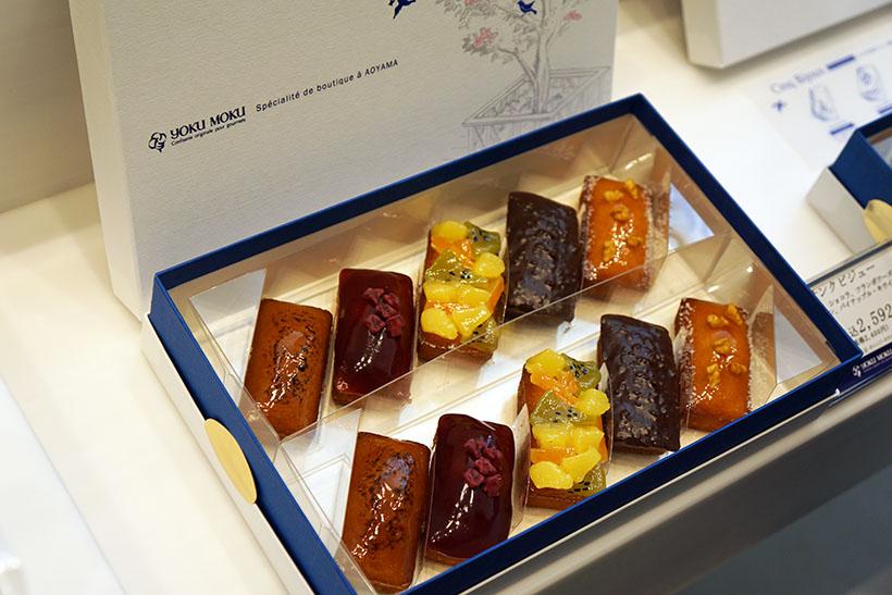 ↑ショップで販売されるサンクビジュー(半生菓子)