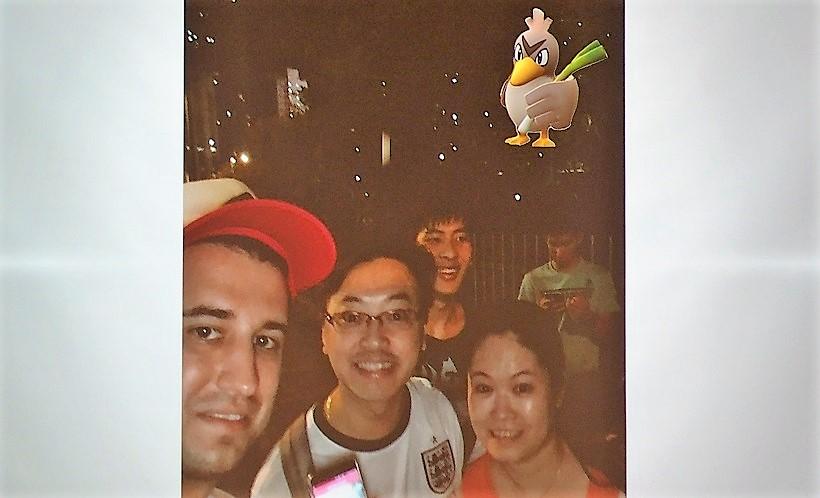 ↑アジア限定のカモネギは8月3日に香港でゲット。日本ではないのが残念