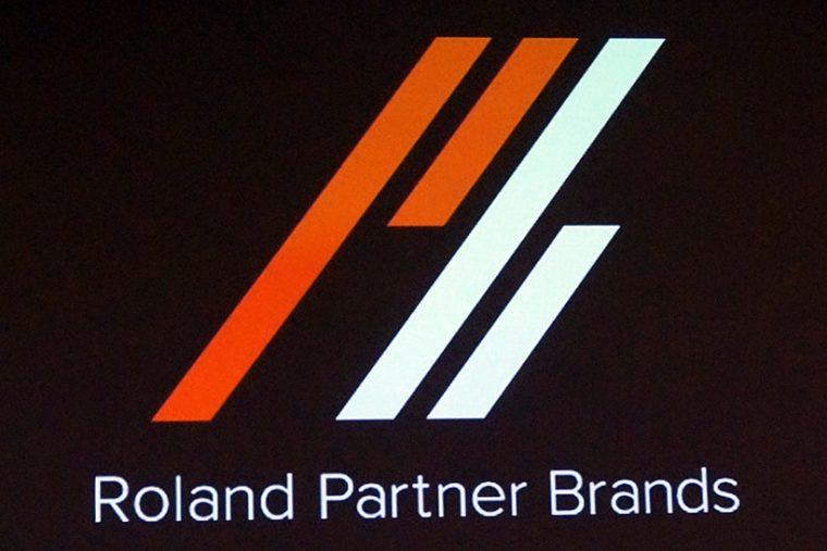 ↑提携するブランド群は「Roland Partner Brands」と命名