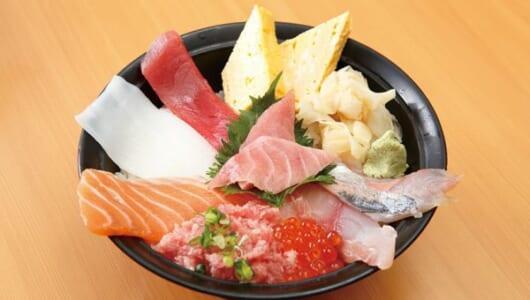 【立ち食い寿司の名店】一品料理が大容量! お酒が進むメニューの宝庫「めぐみ水産 横浜ポルタ店」