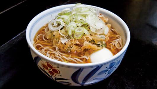 【昼は立ち食いそば】超激戦区浅草橋で圧倒的支持を集める「きらく蕎麦おがわ」