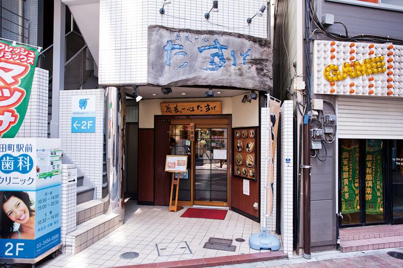 ↑田町店は三田駅A3 出口を出てすぐ の場所に立地