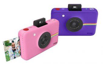 ↑インスタントデジタルカメラ「Polaroid SNAP(ポラロイド スナップ)」