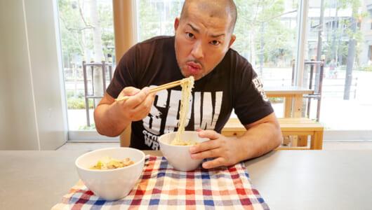 今度の「レスラーメシ」はニンニクたっぷりスタミナ鶏鍋! 新日本プロレス石井智宏が作る鍋は〆のラーメンも絶品だった!!