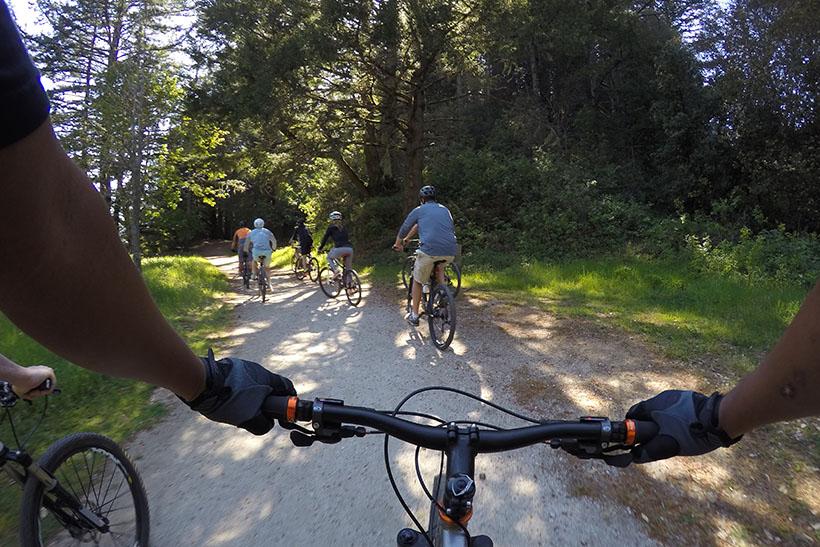 ↑アクティビティはサイクリングやモータースポーツなど多岐にわたる