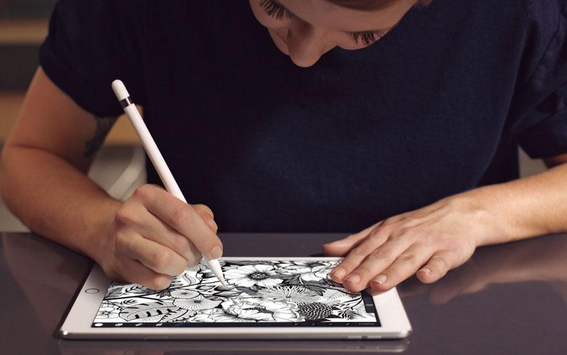 ↑iPad Proと同様、Apple Pencil対応でノート的な使い方ができるようになる?