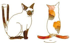 猫の気持ちは「しっぽ&鳴き声」でわかる!! しっぽを立てて振るのは「バッカじゃにゃあ?」
