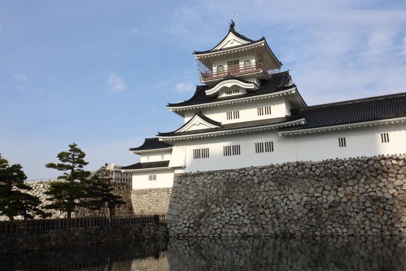 ↑加賀藩の分家として生まれたのが富山藩。富山城は富山前田氏13代の居城として使われた