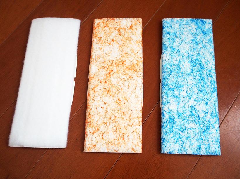 ↑使い捨てパッドは各10枚入り1296円(税込)。ほかに50回洗えるクリーニングパッドも用意されている