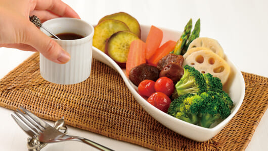 ヘルシー温野菜は調味料選びが肝! 野菜の味を引き出しコクを加えてくれる調味料6選