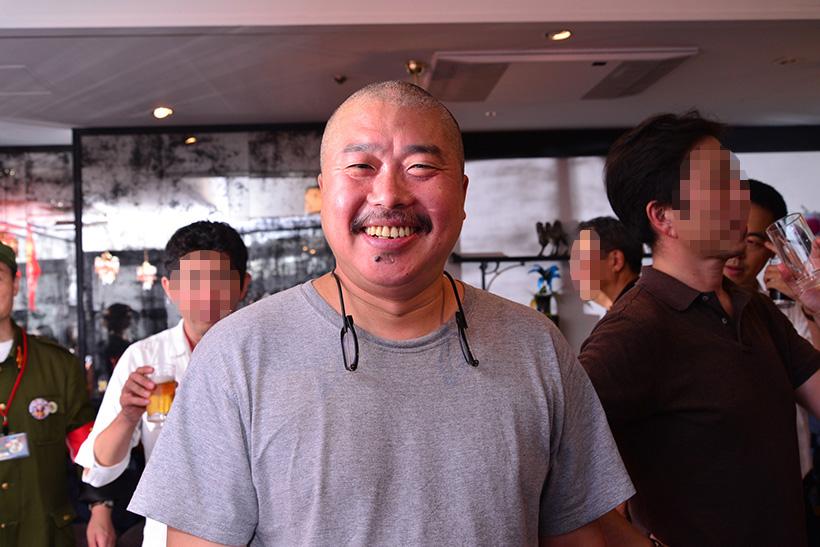 ↑菊池主席同様、ラムバサダーでもある梁さん。昨年末に2号店「味坊鉄鍋荘」を湯島にオープンしましたが、こちらも連日大盛況のカリスマシェフです