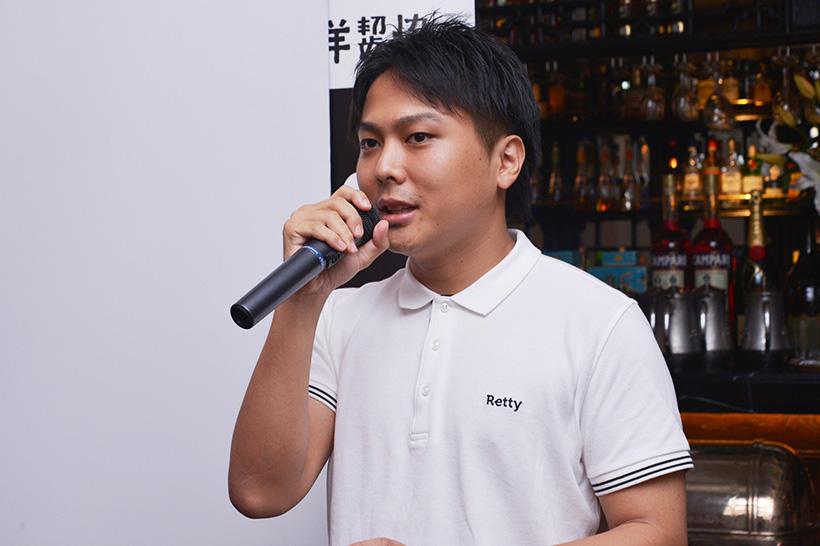 ↑Retty株式会社のマーケティングプランナー・坂口淳一さん