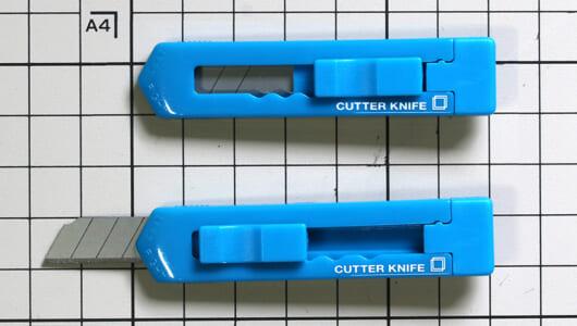 フリーアドレス時代のカッターナイフ選びーー「細」「短」「軽」な携帯性を重視せよ!