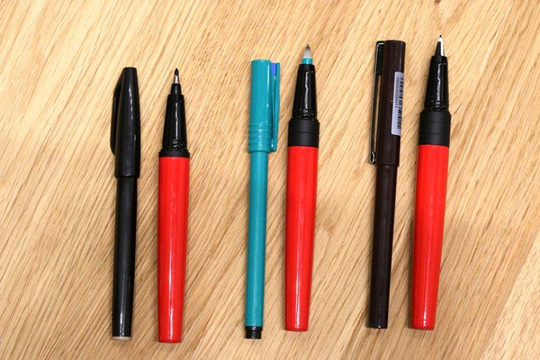 ↑各製品の軸の長さの違いは調整リングで吸収することで、共通の軸を使用可能に