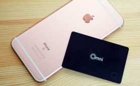 iPhone 7とセットで購入したい! 財布の置き忘れを防止するBTトラッカー「OMNI Bluetooth Card」