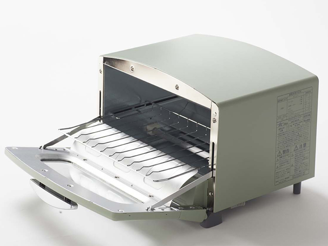 ↑庫内を短時間で一般製品より30℃も高くできるため、一気に食材を焼き上げられます